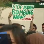 Manifestations à Manille en solidarité aux Palestiniens