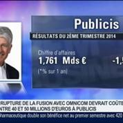 Le deuxième trimestre de Publicis est plus difficile que prévu, Maurice Lévy, dans GMB –