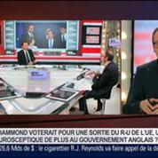 Hervé Juvin et Benaouda Abdeddaïm, dans Le Grand Journal – 3/7