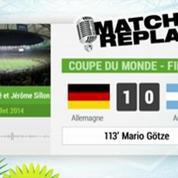 Allemagne Argentine : Le match replay avec le son de RMC Sport !