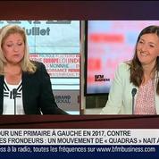 Karine Berger, députée PS des Hautes-Alpes, dans Le Grand Journal 1/4