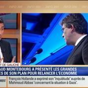 Direct de Gauche: Arnaud Montebourg a présenté sa feuille de route pour le redressement de la France