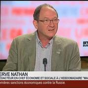 Hervé Nathan et Bruno Jeanbart, dans Le Grand Journal 6/7