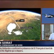 BFM Story: Édition spéciale Disparition du vol d'Air Algérie: deux Mirage 2000 effectuent des vols de reconnaissance