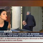 Politique Première: Crash du vol d'Air Algérie: François Hollande est aux commandes