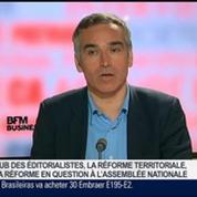Bruno Jeudy, Henri Vernet et Emmanuel Lechypre, dans Le Grand Journal 7/7