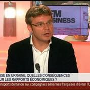 Bruno Jeanbart, Sylvain Courage et Emmanuel Lechypre, dans Le Grand Journal 7/7