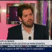 La tendance du moment: Coupe du monde: une aubaine pour les sites de paris sportifs, dans Paris est à vous –