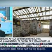 Cybergun lance une augmentation de capital: Jérôme Marsac, dans Intégrale Bourse –