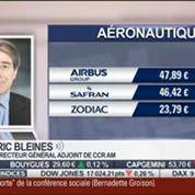 Dossier aéronautique: Airbus est en hausse et Air France est en baisse: Eric Bleines, dans Intégrale Placements –