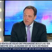 Volvo: ventes en hausse de 10% pendant le premier semestre sur le marché français, Yves Pasquier-Desvignes, dans GMB