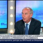 Jean-Claude Junker est élu président de la commission européenne, Jean-Dominique Giuliani dans GMB