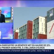AXA: Un bénéfice net en hausse de 22% au premier semestre, Denis Duverne, dans GMB –