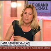 Tatiana Kastouéva-Jean et Benaouda Abdeddaïm, dans Le Grand Journal – 3/7