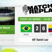 Brésil Colombie : Le Match Replay avec le son RMC Sport !