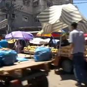 Proche-Orient: Les Gazaouis ne veulent pas quitter leur quartier