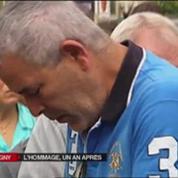 Hommage et minute de silence à Brétigny