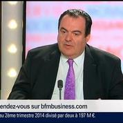 François Roudier et Rémi Cornubert, dans Le Grand Journal 4/7