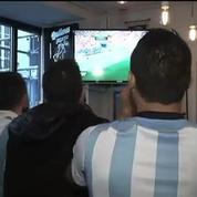 Football / L'ambiance monte chez les supporters argentins à Paris