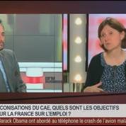 Agnès Bénassy-Quéré, présidente déléguée du CAE, dans Le Grand Journal 5/7