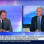 Legrand veut améliorer sa productivité avec une nouvelle stratégie organisationnelle, Gilles Schnepp dans GMB