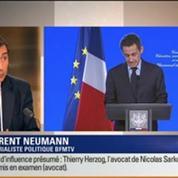 Le Soir BFM: Trafic d'influence présumé: l'avocat de Nicolas Sarkozy, Thierry Herzog et le magistrat Gilbert Azibert mis en examen 3/4