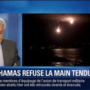 BFM Story: Gaza: le Hamas refuse la main tendue –