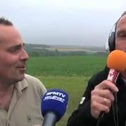 Luchomobile / Luc Leblanc à la rencontre des vignrons de champagne