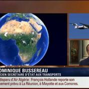 BFM Story: Édition spéciale Disparition du vol d'Air Algérie: la France a mobilisé tous les moyens militaires et civils au Mali