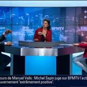 BFM Politique: L'After RMC: Michel Sapin répond aux questions de Véronique Jacquier 6/6