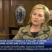 Hillary Clinton: L'invitée de Ruth Elkrief – 1/2