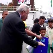 Mondial 2014: des Brésiliens soutiennent toujours la Seleçao –