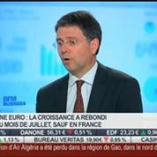 Analyse de la reprise économique des marchés financiers européens: Louis Bert, dans Intégrale Bourse –