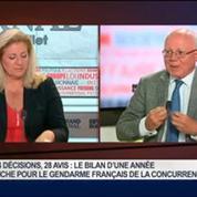 Bruno Lasserre, président de l'Autorité de la concurrence, dans Le Grand Journal 1/4