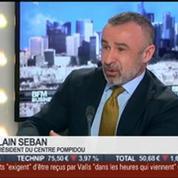 Alain Seban, Centre Pompidou, dans l'invité de BFM Business –