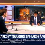 Le Soir BFM: Trafic d'influence présumé: Nicolas Sarkozy est toujours en garde à vue 1/4
