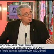 Xavier Godinot et Benaouda Abdeddaïm, dans Le Grand Journal 3/7
