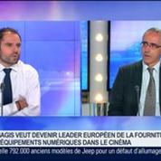 Ymagis: Vers la numérisation des salles de cinéma: Jean Mizrahi, dans GMB –