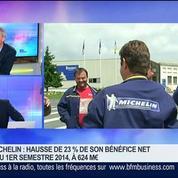 Michelin: hausse de 23% de son bénéfice net au 1er semestre 2014, Jean Dominique Senard dans GMB –
