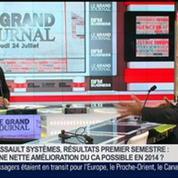 Bernard Charlès, directeur général de Dassault Systèmes, dans Le Grand Journal 5/7