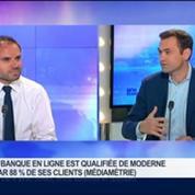 ING Direct est le numéro un français et européen des institutions bancaires en ligne: Benoît Legrand, dans GMB –