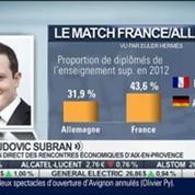 Match France Allemagne sur le terrain économique: Ludovic Subran, dans Intégrale Bourse –