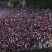 Football / L'Hôtel de Ville Paris fait le plein de supporters