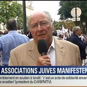 BFM Story: Rassemblement pro-israélien: les associations juives manifestent –