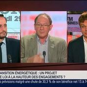 Hervé Nathan et Bruno Jeanbart, dans Le Grand Journal 7/7