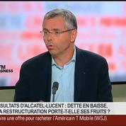 Michel Combes, directeur général d'Alcatel-Lucent, dans Le Grand Journal 2/7