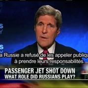 MH17 : Kerry appelle la Russie à oeuvrer pour