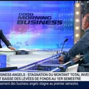 Business Angels connait actuellement une large baisse des levées de fonds, Jean-David Chamboredon, dans GMB –