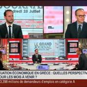 Céline Antonin et Benaouda Abdeddaïm, dans Le Grand Journal – 3/7