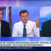 Agence des Nouveaux Avocats: simple, accessible et transparent, Frédéric Moréas et Philippe Charles, dans GMB –